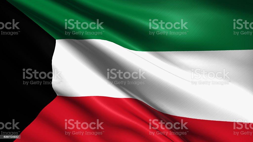 Flaga Kuwejtu – zdjęcie