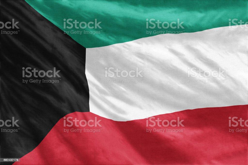 Flag of Kuwait photo libre de droits