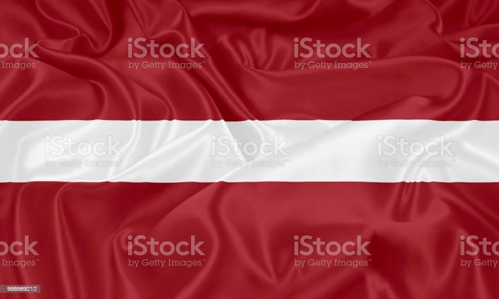 Flag of Latvia royalty-free stock photo