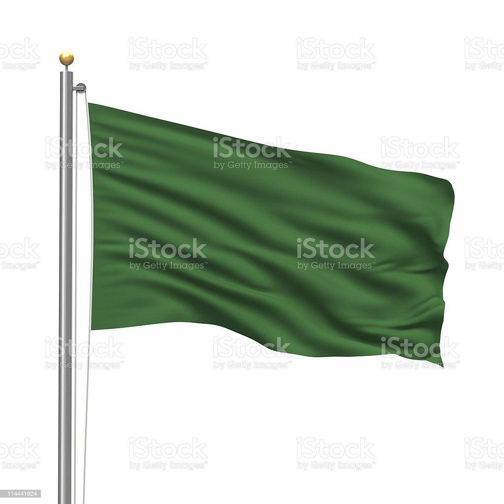 Flag of Libya royalty-free stock photo