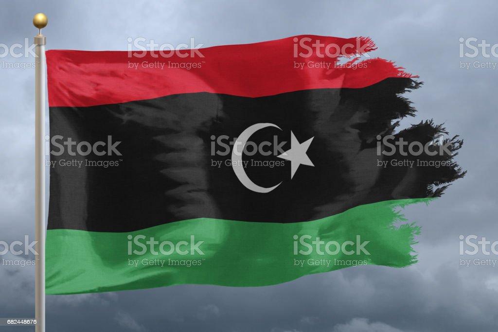 Flag of Libya Стоковые фото Стоковая фотография