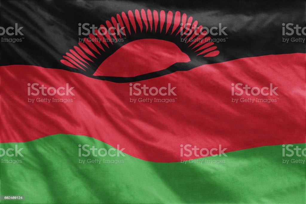 Flag of Malawi Стоковые фото Стоковая фотография
