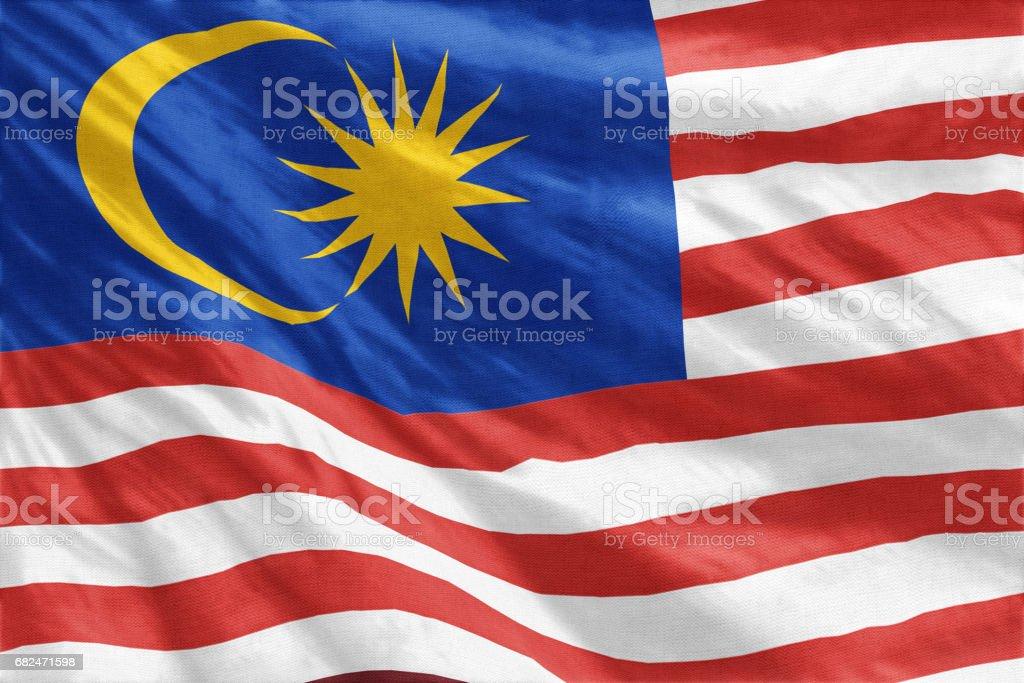 Flag of Malaysia - foto de acervo