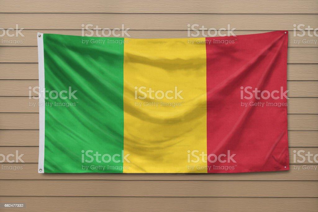 Flag of Mali royalty-free stock photo