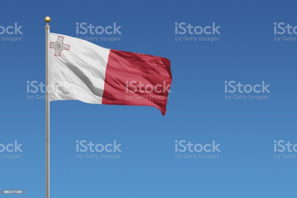 Flag of Malta royalty-free stock photo