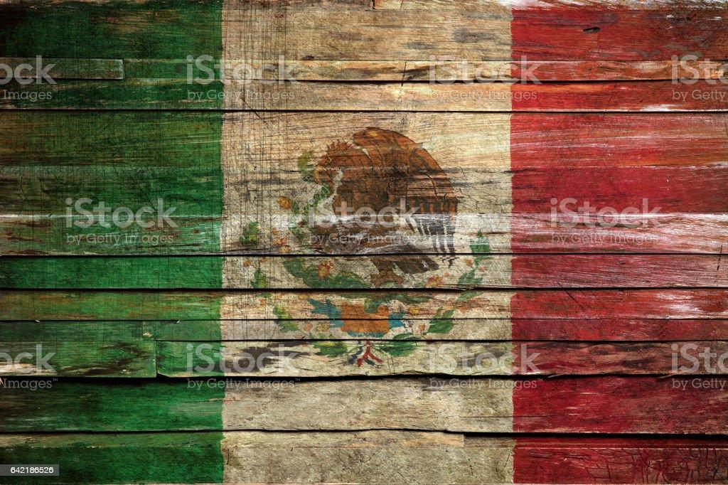 Bandera de México  - foto de stock