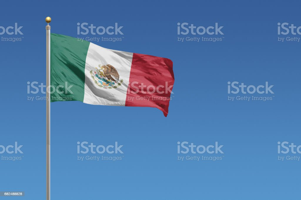 Flag of Mexico - foto de stock