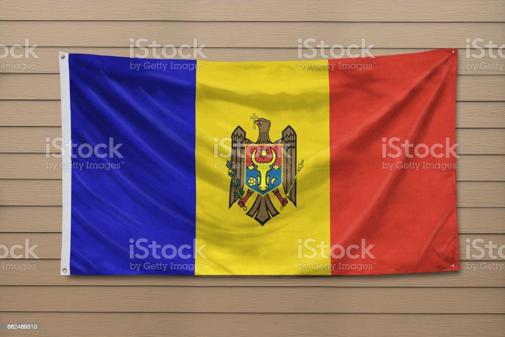 Flag of Moldova Стоковые фото Стоковая фотография