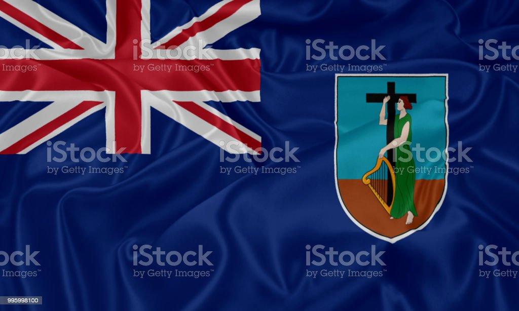 Bandeira de Montserrat  - foto de acervo