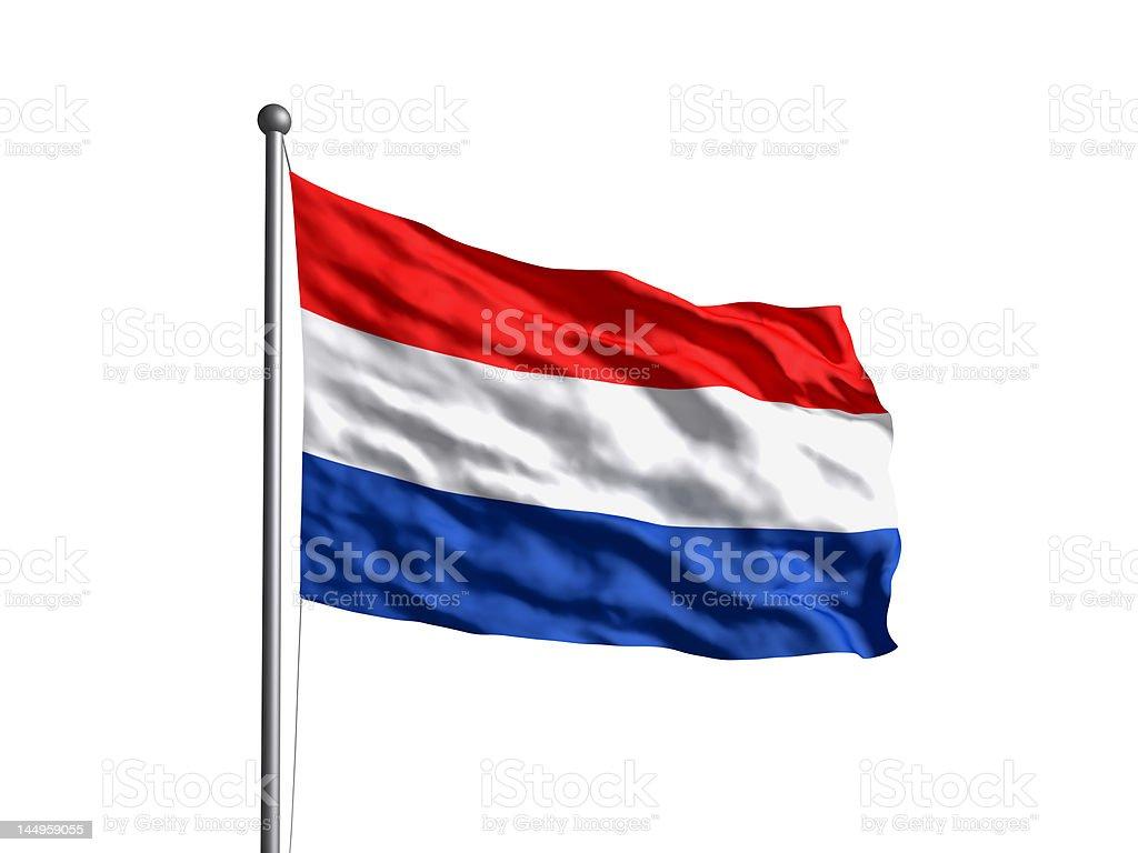 Bandera de Países Bajos (OLD) versión de nuevo. - foto de stock