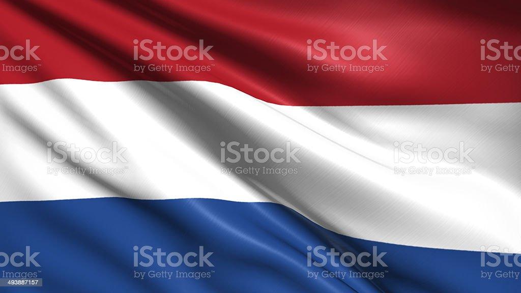 Bandera de países bajos - foto de stock