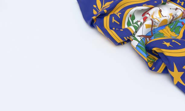 Bandeira de New Hampshire - foto de acervo