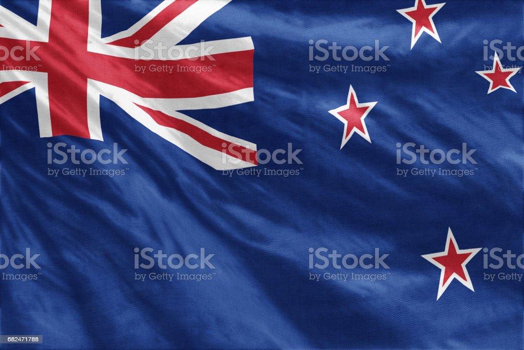 Flag of New Zealand Lizenzfreies stock-foto