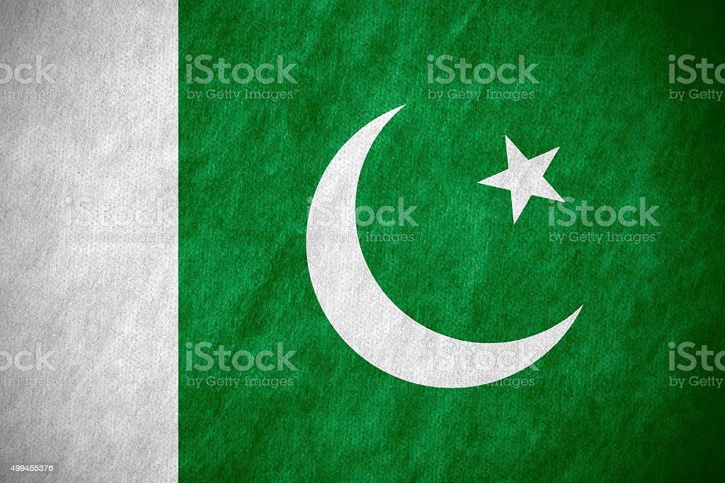 flag of Pakistan stock photo