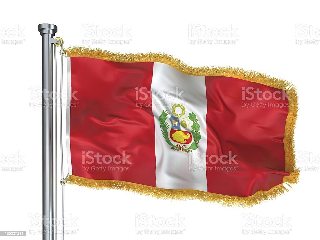 Bandera De Peru Foto De Stock Y Mas Banco De Imagenes De America Del Sur Istock