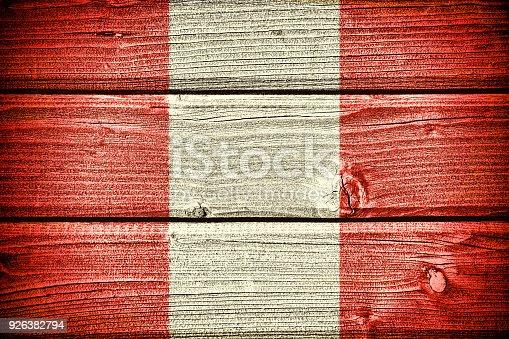 istock Flag of Peru 926382794