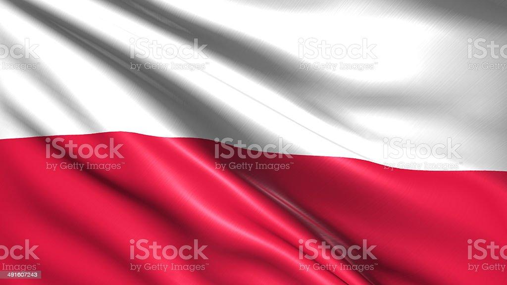 Flaga Polski – zdjęcie