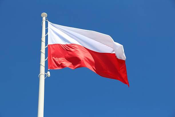 Flagge von Polen  – Foto