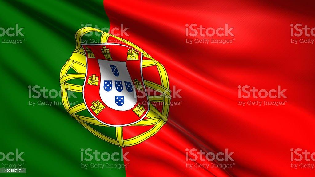 Flaga Portugalii – zdjęcie