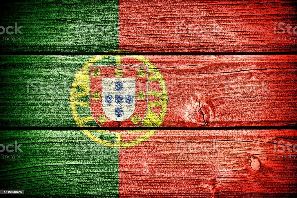 Flag of Portugal - fotografia de stock