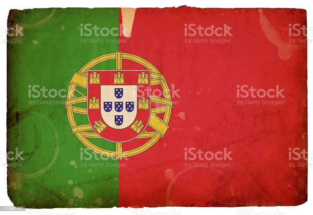 Flag of Portugal XXXL royalty-free stock photo