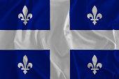 Flag of Quebec Background