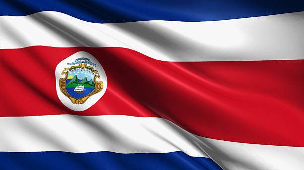 royalty free costa rica flag pictures images and stock photos istock