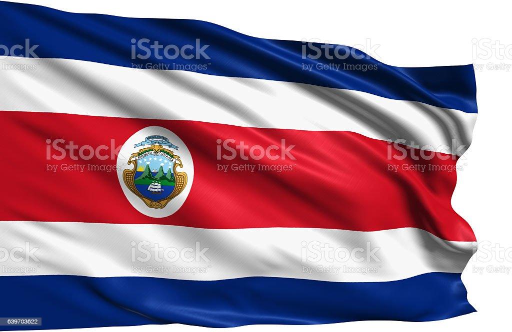 flag of Republic of Costa Rica – zdjęcie