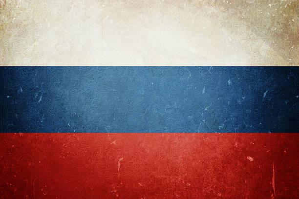 Flagge von Russland – Foto