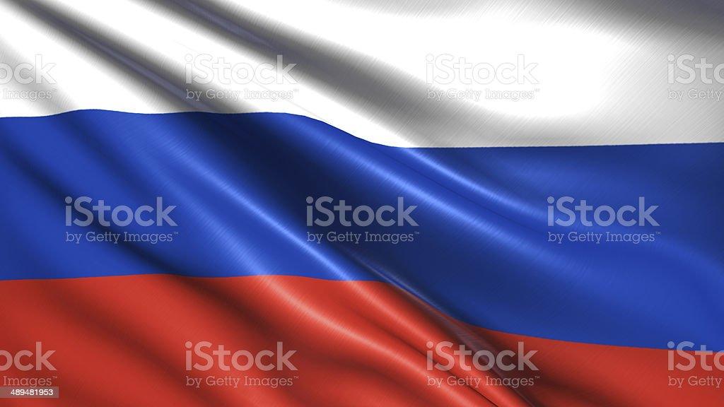Flaga Rosji – zdjęcie
