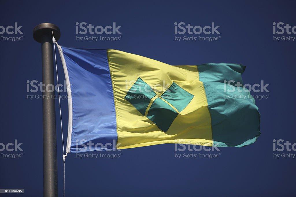 Bandeira de São Vicente e Granadinas - foto de acervo