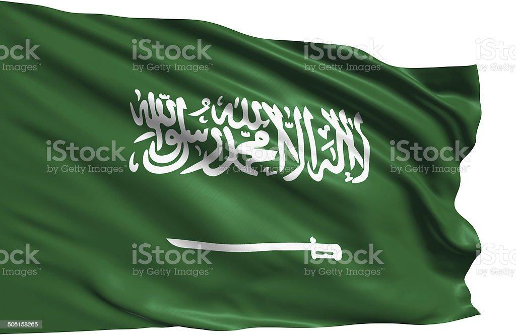 Flaga Arabii Saudyjskiej – zdjęcie
