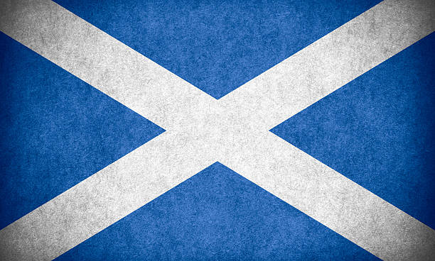 flag-of-scotland-with-rough-texture-pict