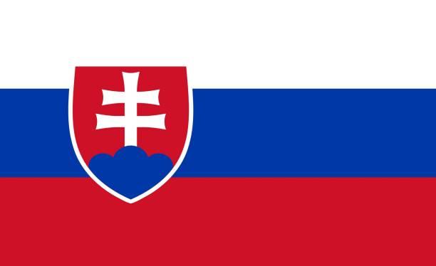 슬로바키아 플래깅  - 슬로바키아 뉴스 사진 이미지