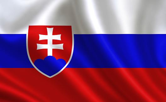 Photo libre de droit de Drapeau De La Slovaquie banque d'images et plus  d'images libres de droit de Allemagne - iStock