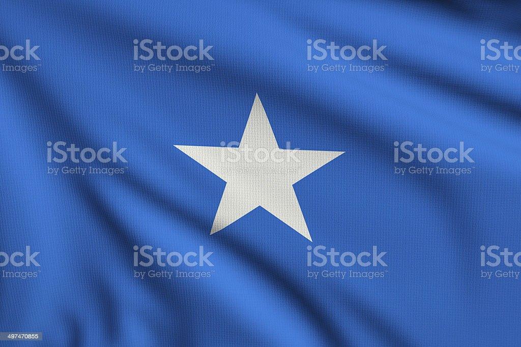 Flag of Somalia royalty-free stock photo