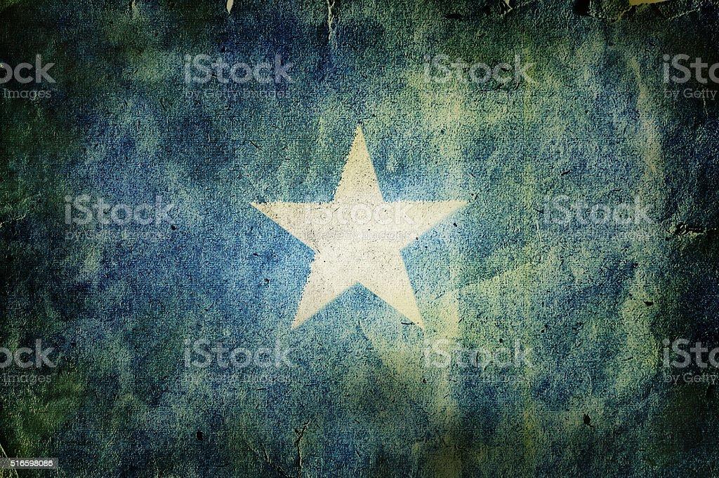 Flag of Somalia stock photo