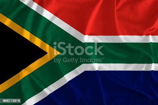 istock Flag of South Africa Background 966213918