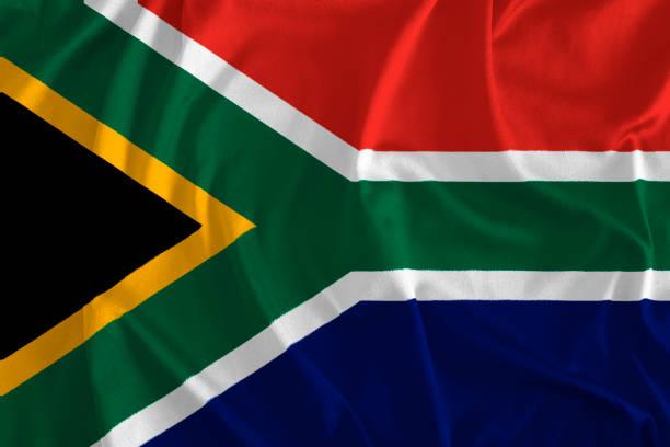 flagge von südafrika hintergrund - westeuropa stock-fotos und bilder