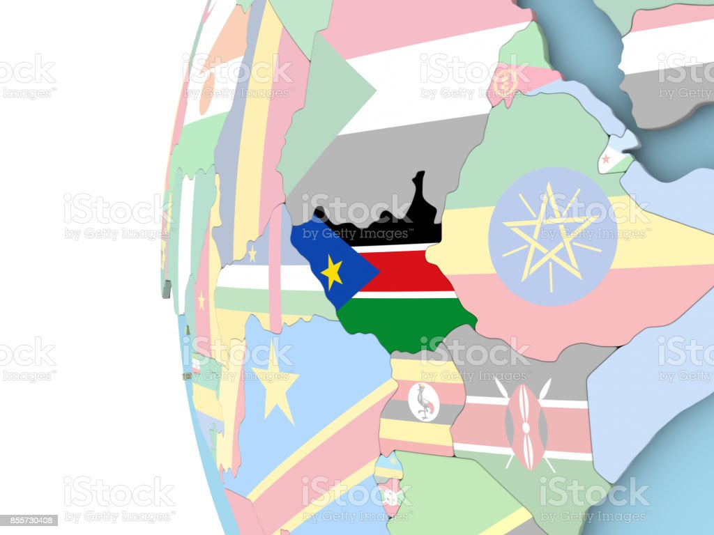 Political Map Of South Sudan.Royalty Free South Sudan Political Map Pictures Images And Stock