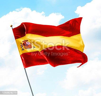 istock Flag of Spain 1253826270