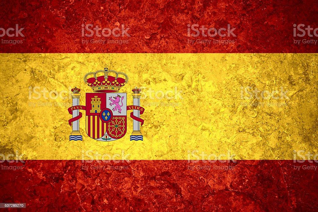 Bandeira da Espanha - foto de acervo