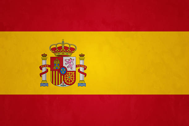 Flag Of Spain (Rojigualda) - foto de acervo