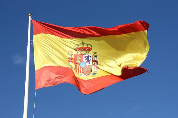 Flagge von Spanien – Foto