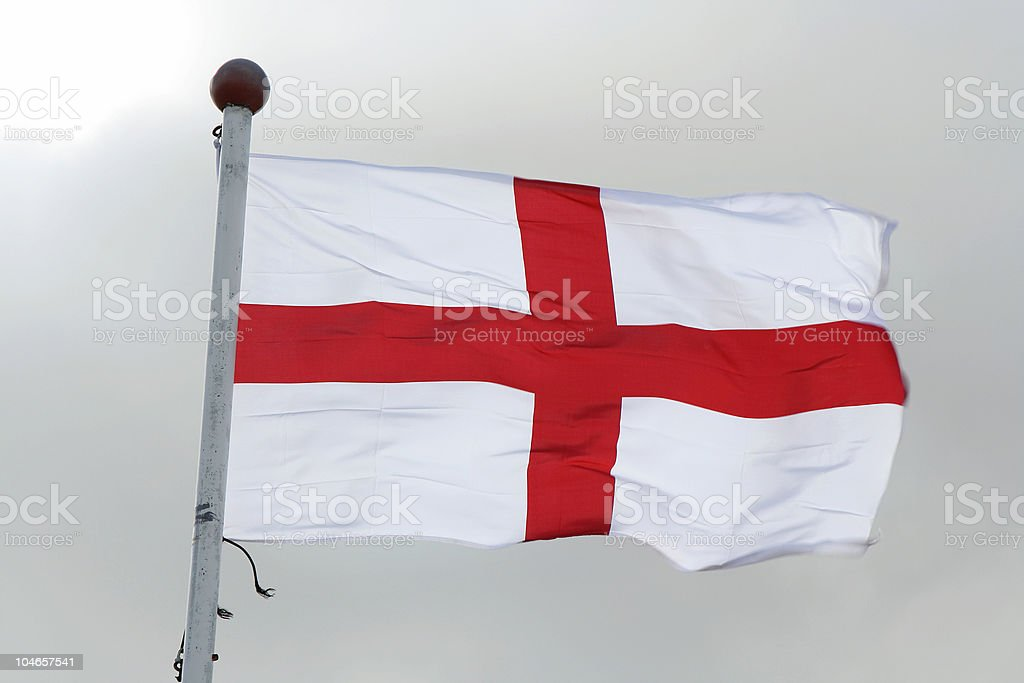 Flag of St George stock photo