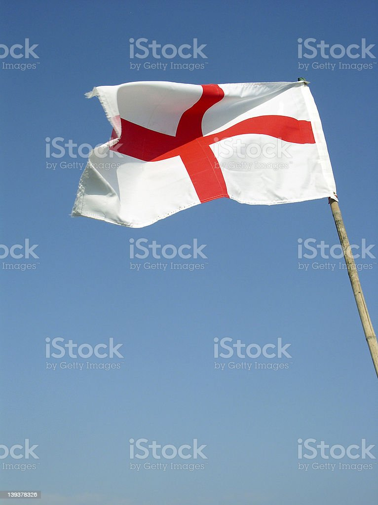 Flag of St George royalty-free stock photo