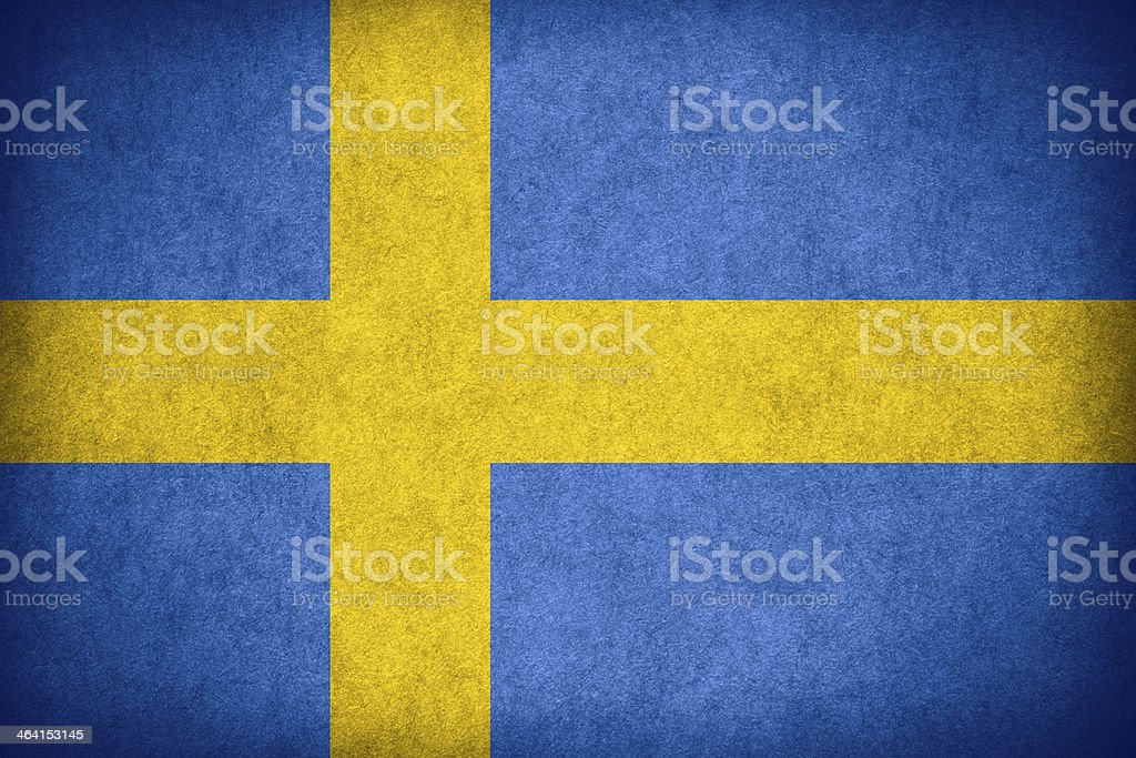 flag of Sweden royalty-free stock photo