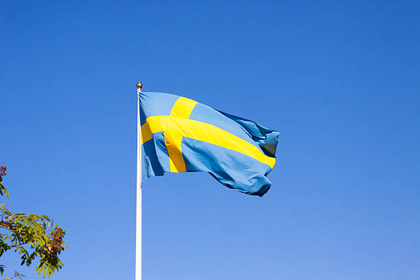 Flagge von Schweden – Foto