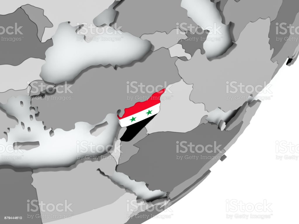 Royalty Free Flag Of Syria Syrian Arab Republic Pictures Images and