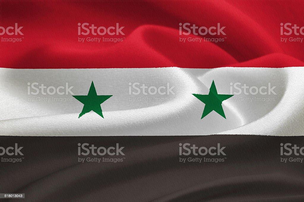 Bandera de siria  - foto de stock